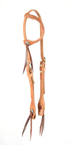 Cactus Harness One Ear Headstall Tack - Headstalls - One Ear Cactus Teskeys