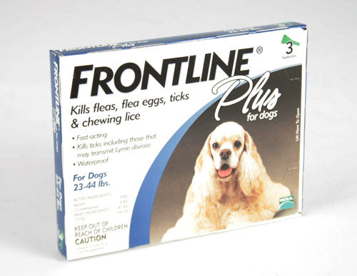 Frontline Plus Flea and Tick Treatment for Dog 23-44lbs. FARM & RANCH - Animal Care - Pets - Flea & Pest Control - Collars Merial Teskeys