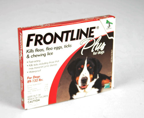Frontline Plus Flea and Tick Treatment for Dogs 89-132lbs. FARM & RANCH - Animal Care - Pets - Flea & Pest Control - Collars Merial Teskeys