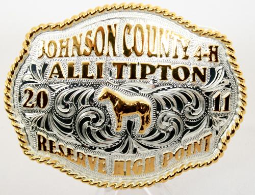 Junior Trophy Buckle 1