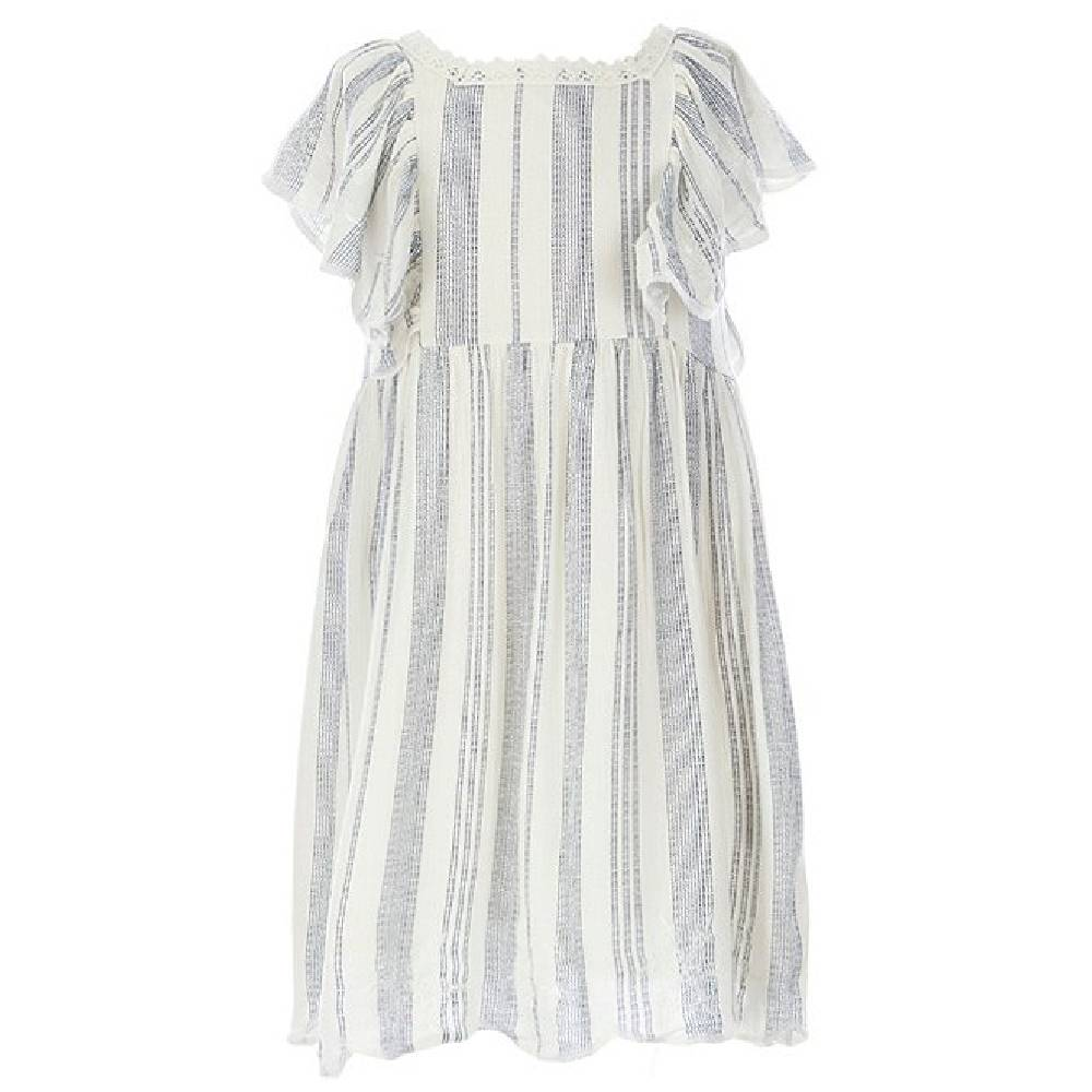 Jessica Simpson Baby Ruffle Stripe Dress KIDS - Baby - Baby Girl Clothing JESSICA SIMPSON GIRLS Teskeys