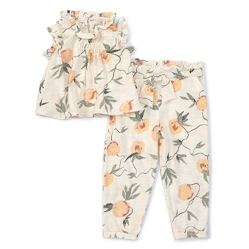 Jessica Simpson Girl's Peaches Print Set KIDS - Baby - Baby Girl Clothing JESSICA SIMPSON GIRLS Teskeys