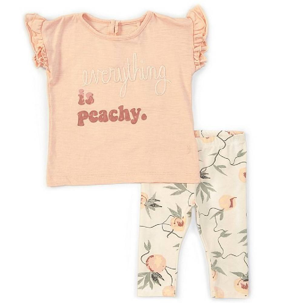 Jessica Simpson Girl's Everything Is Peachy Set KIDS - Baby - Baby Girl Clothing JESSICA SIMPSON GIRLS Teskeys