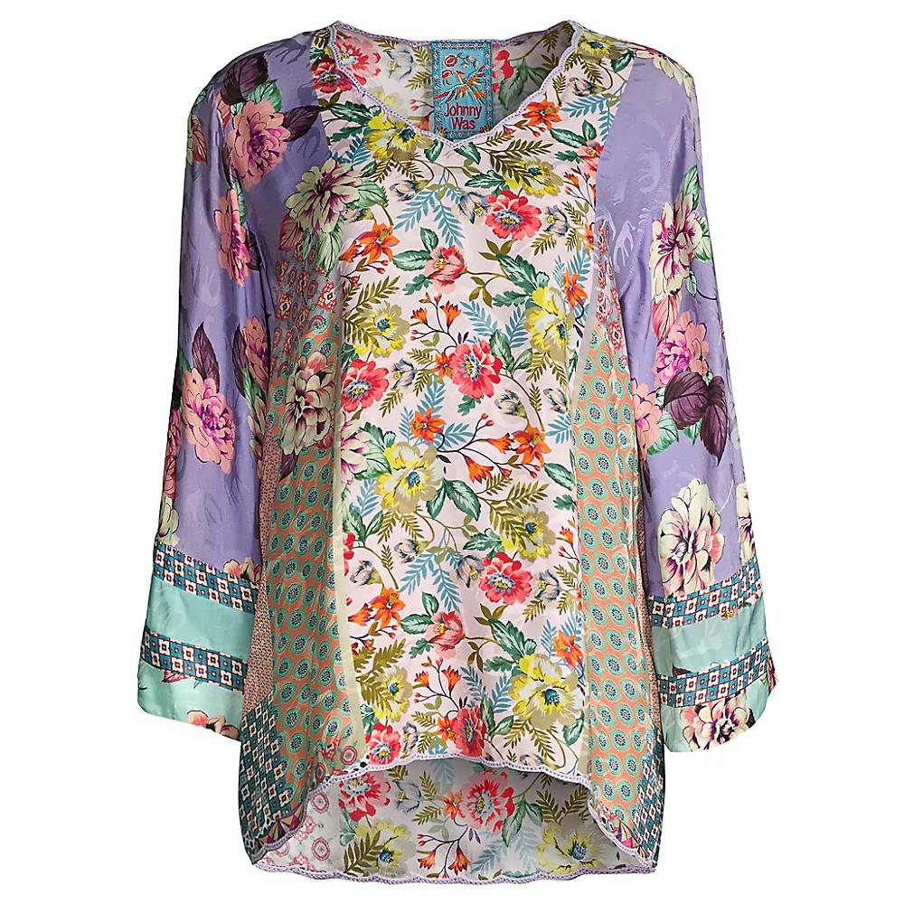 Johnny Was Ilene Blouse WOMEN - Clothing - Tops - Long Sleeved JOHNNY WAS COLLECTION Teskeys