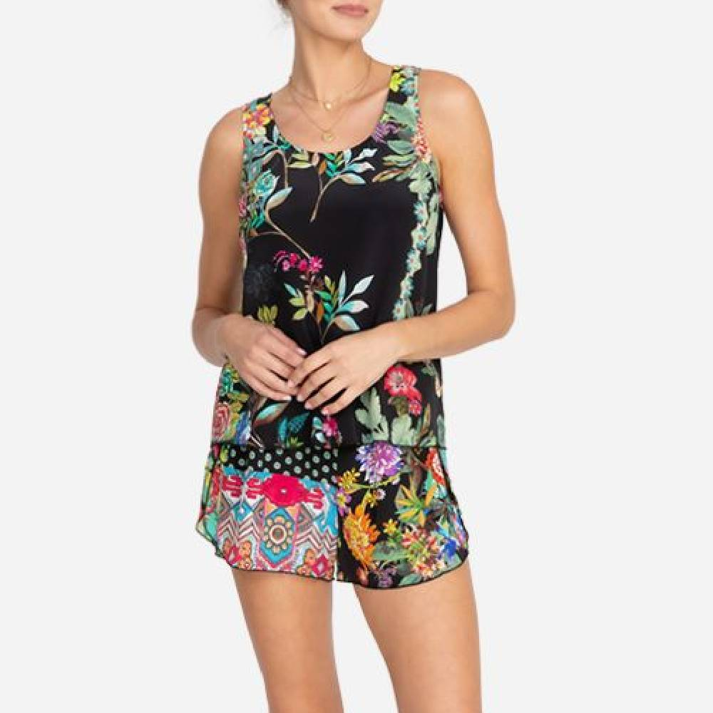 Johnny Was Roselynn Floral Lounge Set WOMEN - Clothing - Loungewear JOHNNY WAS COLLECTION Teskeys