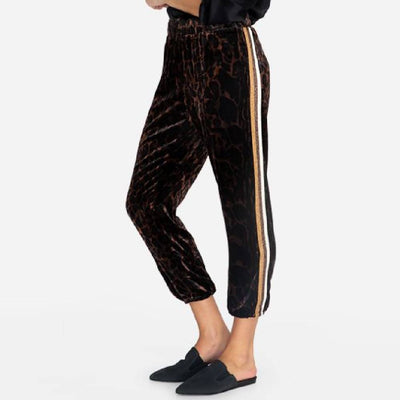 Johnny Was Velvet Jogger WOMEN - Clothing - Pants & Leggings JOHNNY WAS COLLECTION Teskeys