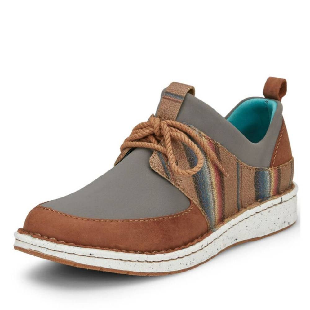 Justin Vista Casual Shoe-Grey WOMEN - Footwear - Casuals JUSTIN BOOT CO. Teskeys