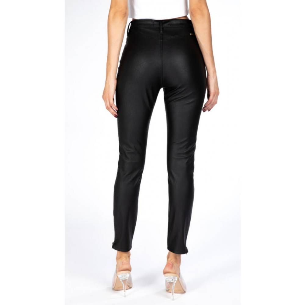 KanCan Gemma Faux Leather Jegging WOMEN - Clothing - Jeans KANCAN Teskeys