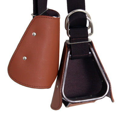 Kiddy Up with Tapaderos Saddles - Saddle Accessories Mustang Teskeys