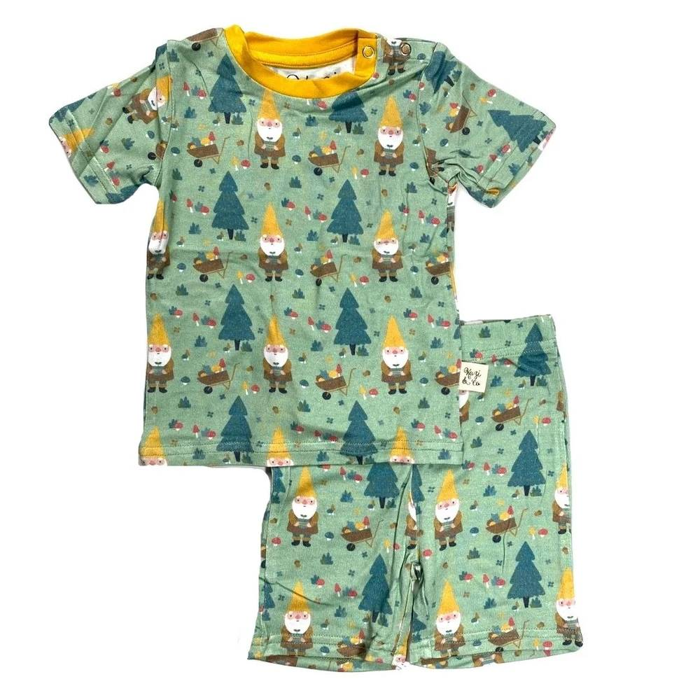 Kozi & Co Short Set - Multiple Prints KIDS - Baby - Unisex Baby Clothing KOZI & CO Teskeys
