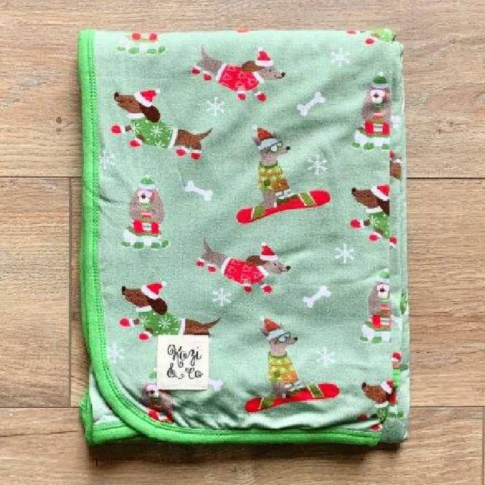 Kozi & Co Snow Pups Blanket KIDS - Baby - Baby Accessories KOZI & CO Teskeys