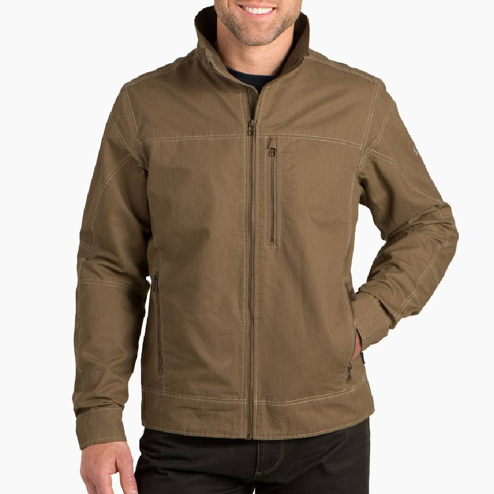 KÜHL Burr Jacket - Khaki MEN - Clothing - Outerwear - Jackets Kuhl Teskeys