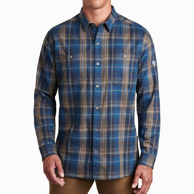 KÜHL Fugitive Flannel Shirt MEN - Clothing - Shirts - Long Sleeve Shirts Kuhl Teskeys