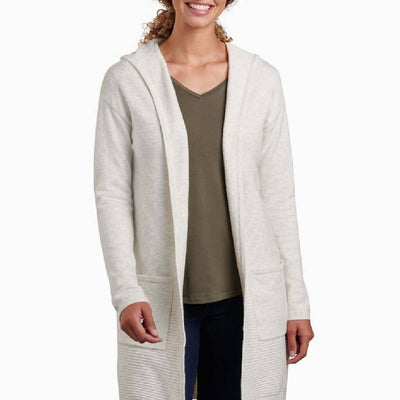KÜHL Solace Hoody - Natural WOMEN - Clothing - Sweaters & Cardigans Kuhl Teskeys