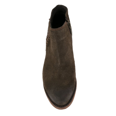 Liberty Black Gamuza Tobacco Bootie WOMEN - Footwear - Boots - Booties LIBERTY BLACK BOOT CO. Teskeys