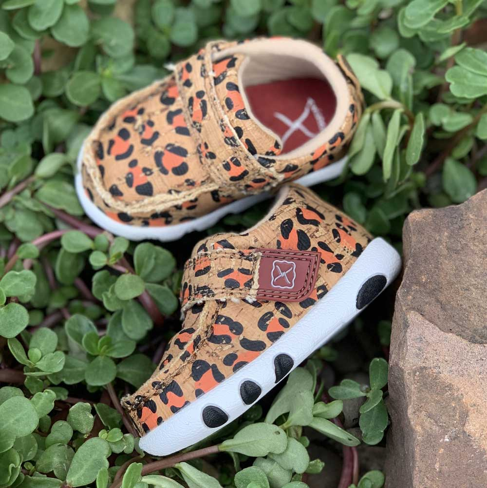 Twisted X Leopard Infant Driving Moc KIDS - Footwear - Casual Shoes TWISTED X Teskeys