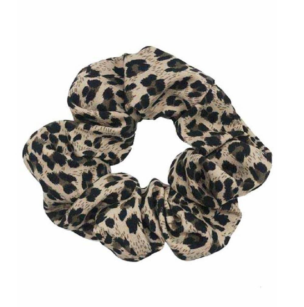 Leopard Print Hair Scrunchie WOMEN - Accessories - Hair Accessories Fashion City Teskeys