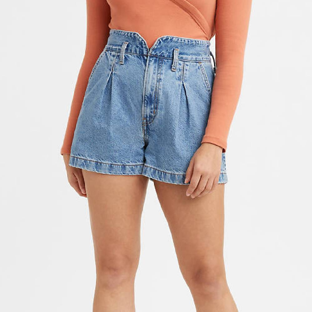 Levi High Rise Mom Shorts WOMEN - Clothing - Shorts LEVI STRAUSS & CO Teskeys