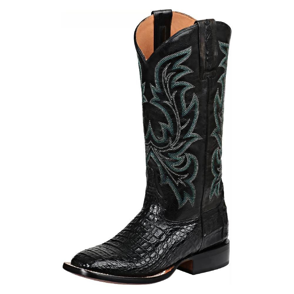 Lucchese Womens Caiman Horseman Boot WOMEN - Footwear - Boots - Exotic Boots LUCCHESE BOOT CO. Teskeys