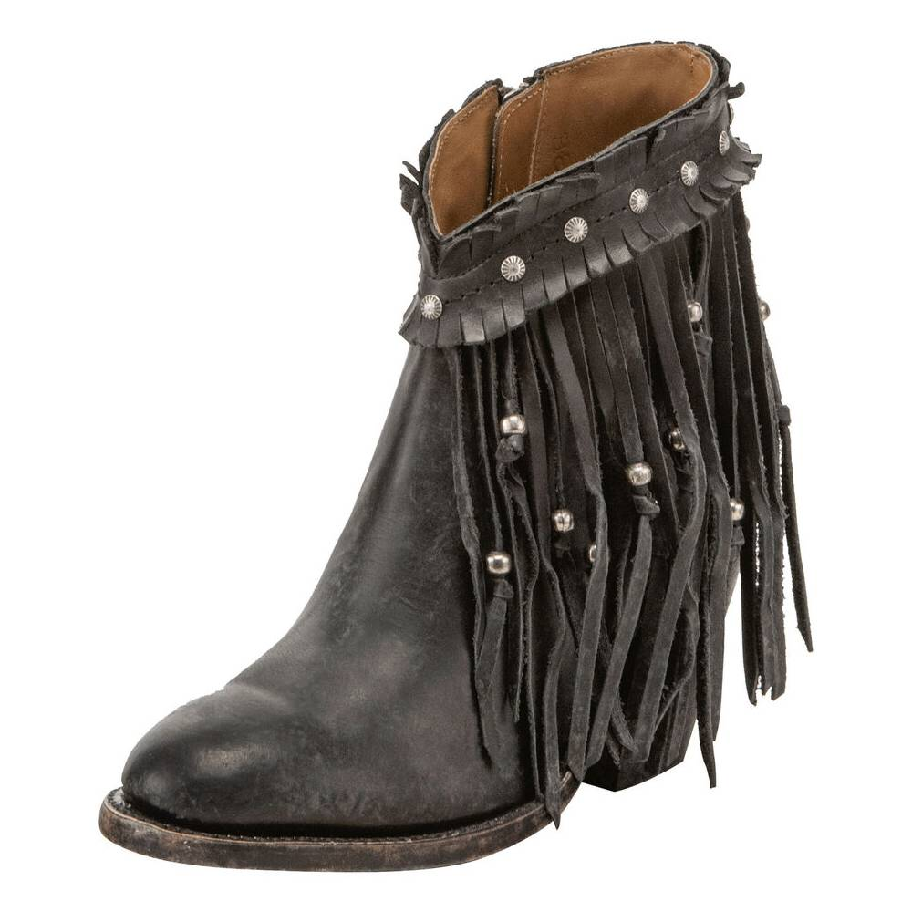 Lucchese Farrah Bootie WOMEN - Footwear - Boots - Booties LUCCHESE BOOT CO. Teskeys