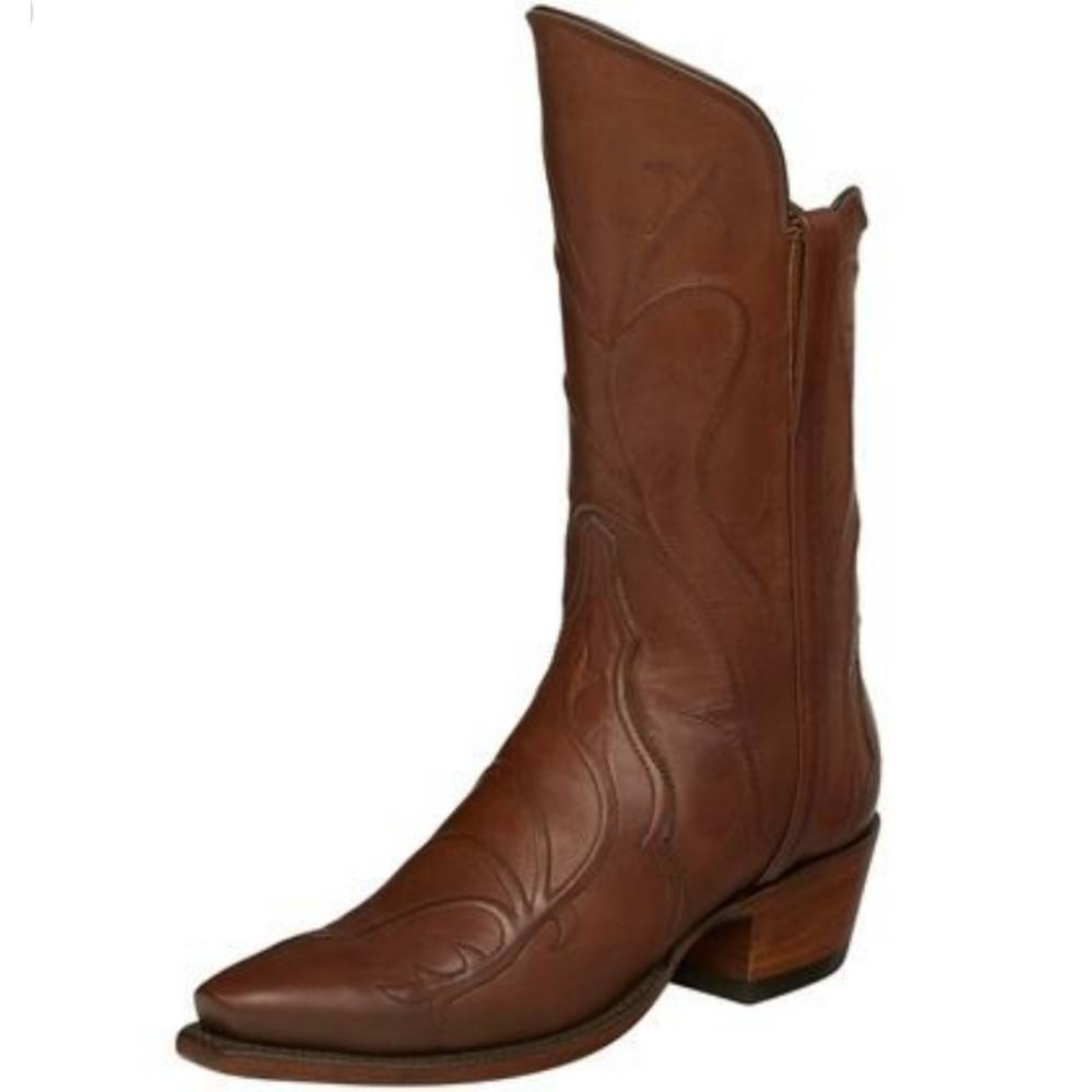 Lucchese Mae Cognac Boot WOMEN - Footwear - Boots - Fashion Boots LUCCHESE BOOT CO. Teskeys