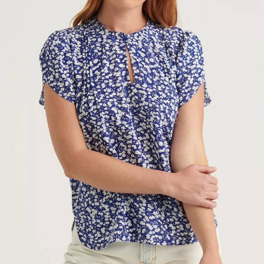 Lucky Brand Tulip Sleeve Top WOMEN - Clothing - Tops - Short Sleeved LUCKY BRAND JEANS Teskeys