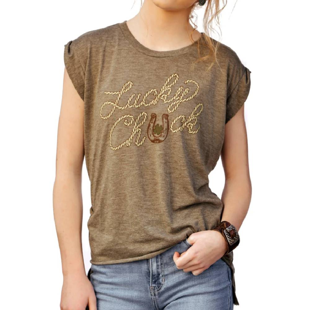Lucky Chuck Tee Ropen Lucky Olive