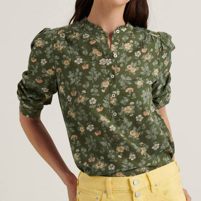 Lucky Brand Megan Popover Top WOMEN - Clothing - Tops - Long Sleeved LUCKY BRAND JEANS Teskeys