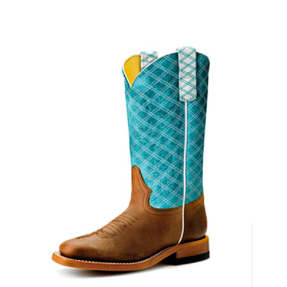 Macie Bean Kid's Turquoise Barcelona Boot KIDS - Footwear - Boots ANDERSON BEAN BOOT CO. Teskeys