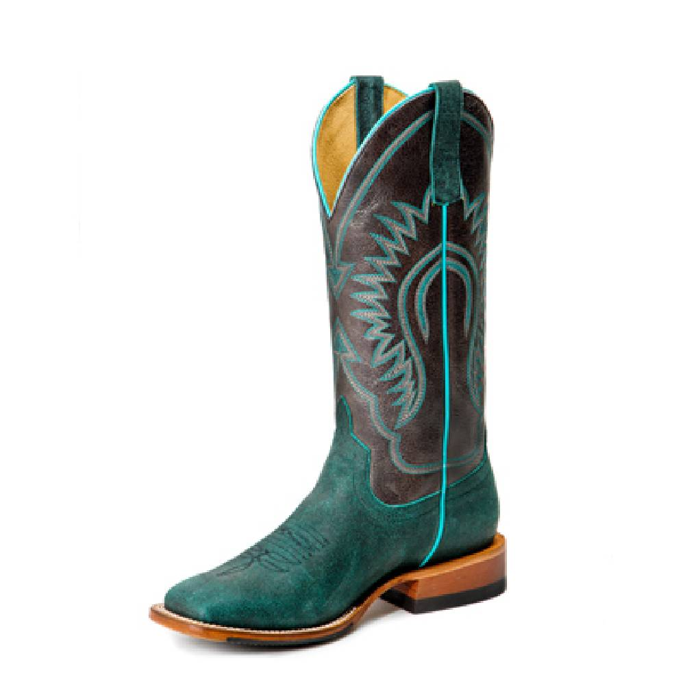 Macie Bean Suede The Day Boot WOMEN - Footwear - Boots - Western Boots ANDERSON BEAN BOOT CO. Teskeys
