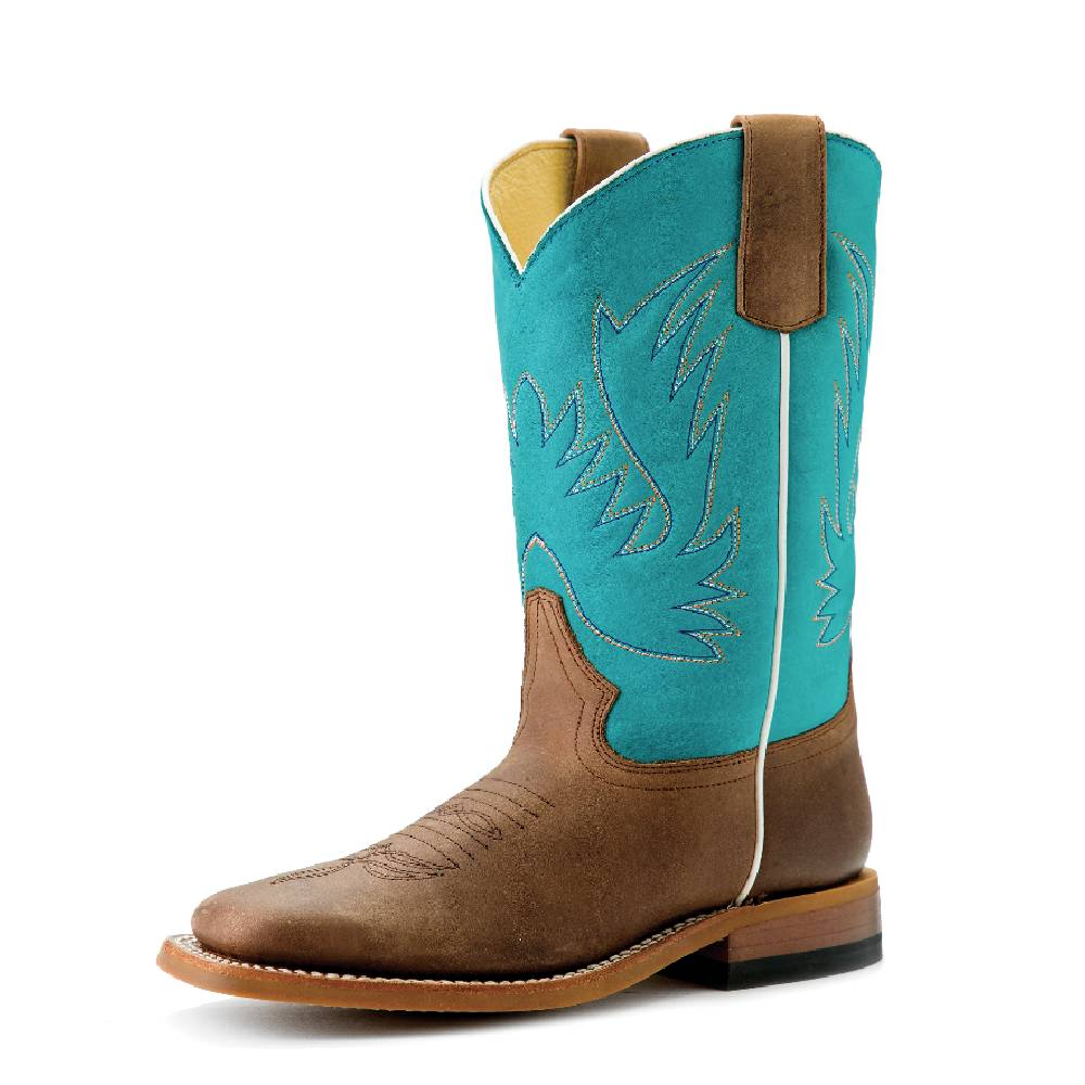 Macie Bean Kid's Sugared Brass Boot KIDS - Girls - Footwear - Boots ANDERSON BEAN BOOT CO. Teskeys