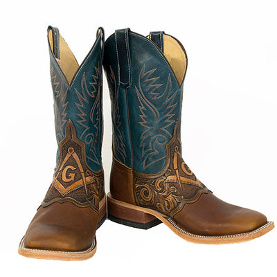Teskey's Freemason Boot MEN - Footwear - Western Boots ANDERSON BEAN BOOT CO. Teskeys