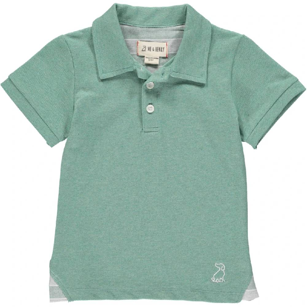 Me & Henry Soild Cotton Polo KIDS - Baby - Baby Boy Clothing Me & Henry Teskeys