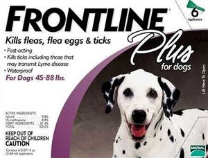 Frontline Plus For Dogs FARM & RANCH - Animal Care - Pets - Flea & Pest Control - Collars Frontline Teskeys
