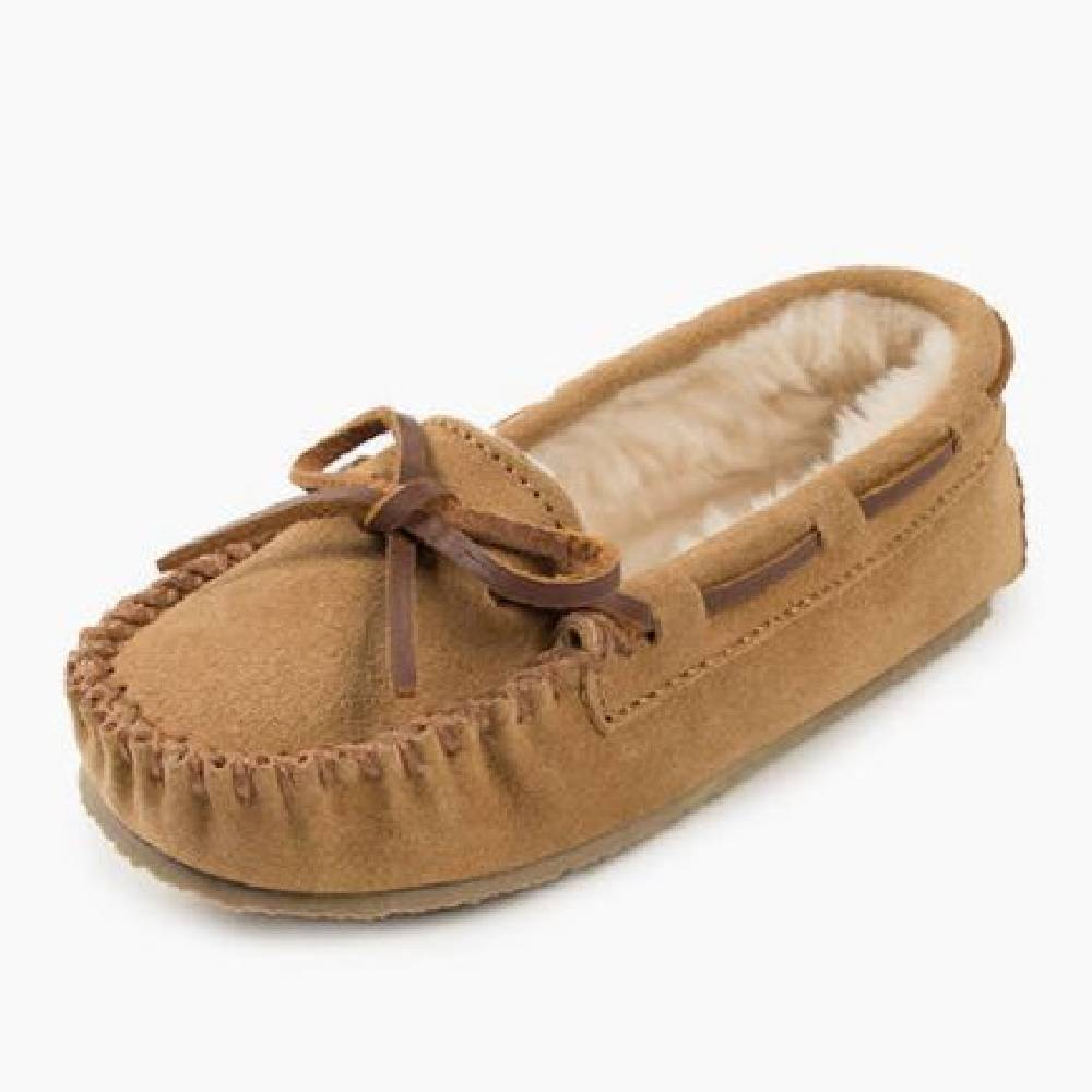 Minnetonka Youth Cassie Slipper KIDS - Girls - Footwear - Casual Shoes MINNETONKA Teskeys