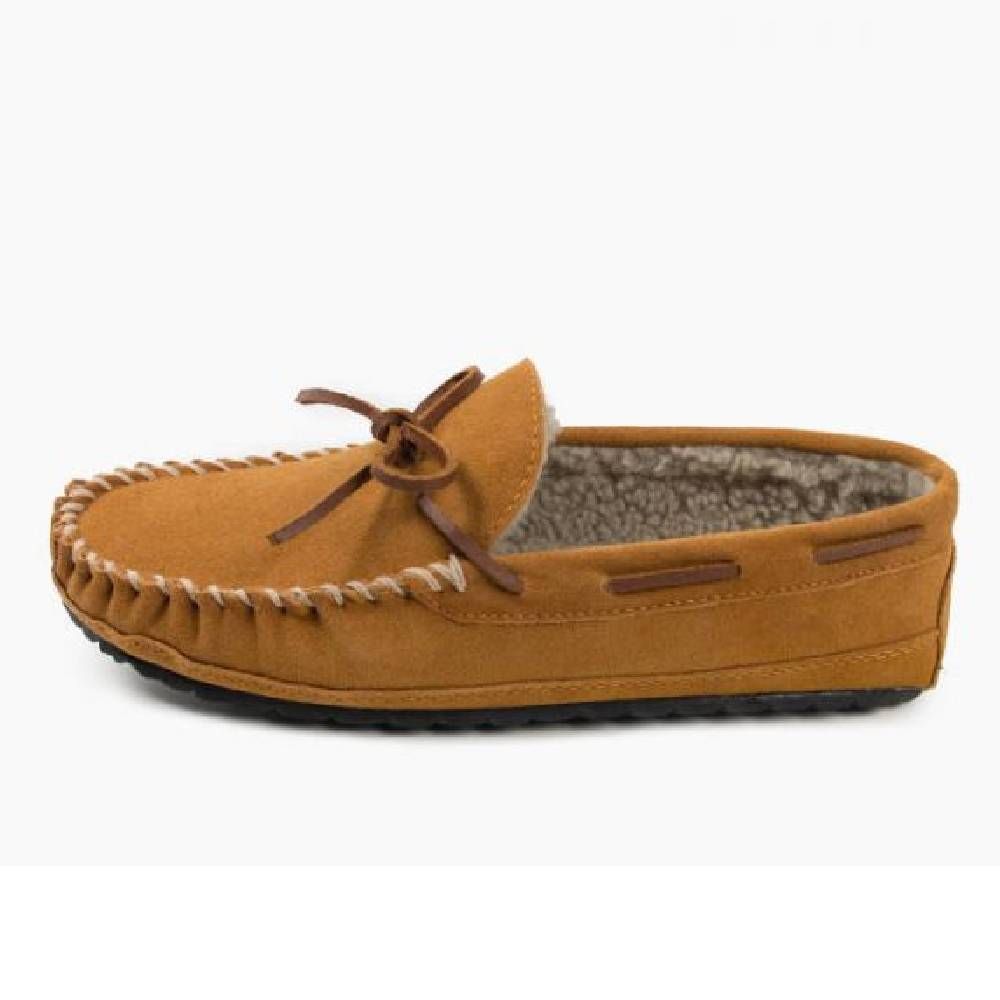 Minnetonka Men's Casey Moccasin MEN - Footwear - Slippers MINNETONKA Teskeys