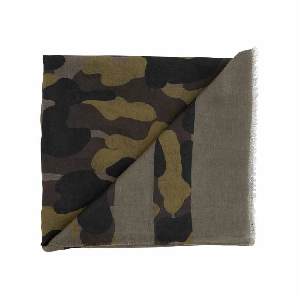 Mud Pie Striped Camo Scarf WOMEN - Accessories - Scarves & Wraps Mud Pie Teskeys