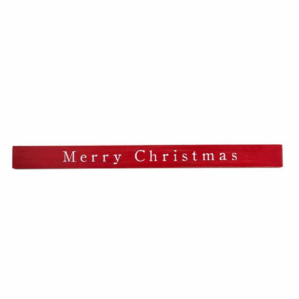 "Mud Pie ""Merry Christmas"" Wood Sign HOME & GIFTS - Home Decor - Seasonal Decor Mud Pie Teskeys"