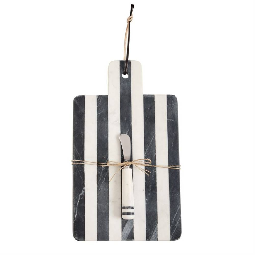 Mud Pie Paddle Marble Board Set HOME & GIFTS - Tabletop + Kitchen - Serveware & Utensils Mud Pie Teskeys