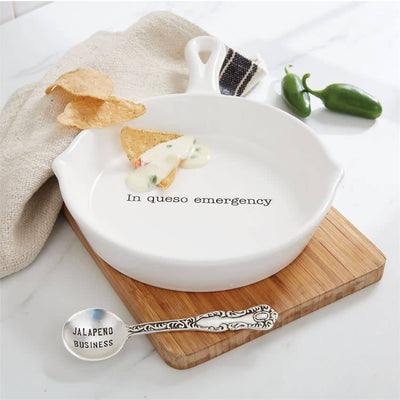 Mud Pie Skillet Queso Dip Set HOME & GIFTS - Tabletop + Kitchen - Serveware & Utensils Mud Pie Teskeys