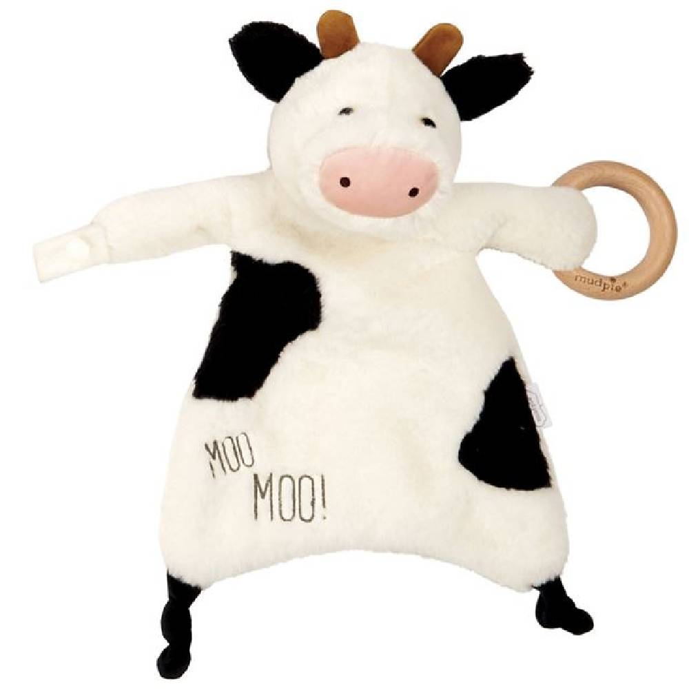 Mud Pie Cow Woobie KIDS - Baby - Baby Accessories Mud Pie Teskeys