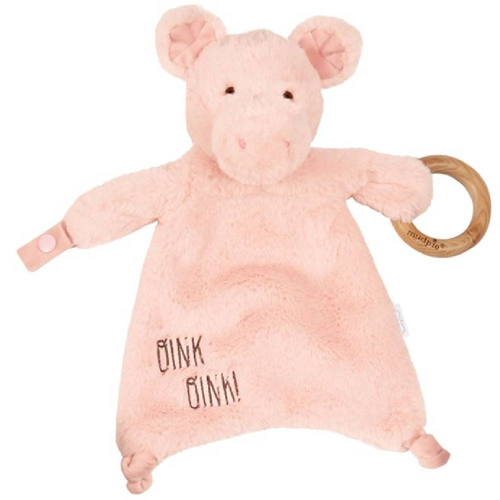 Mud Pie Pig Woobie KIDS - Baby - Baby Accessories Mud Pie Teskeys
