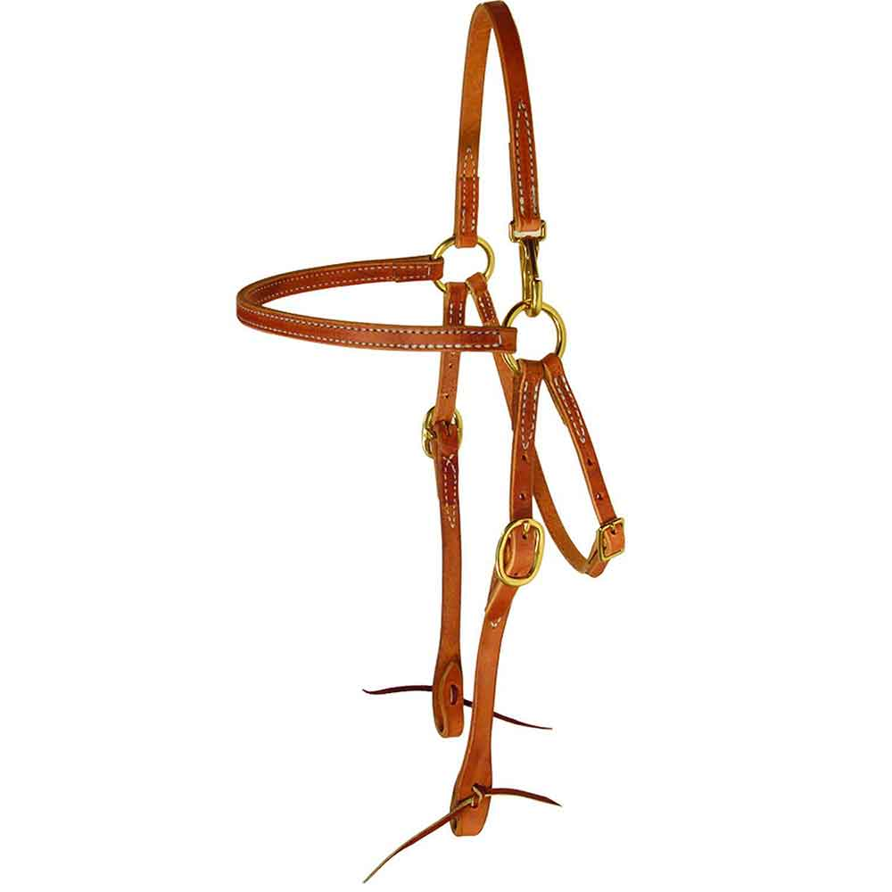 Teskey's Quick Snap Mule Headstall Tack - Headstalls - Browband Teskey's Teskeys