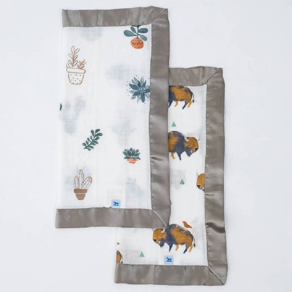 Muslin Security Blanket - 2 Pack KIDS - Baby - Baby Accessories Teskeys Teskeys