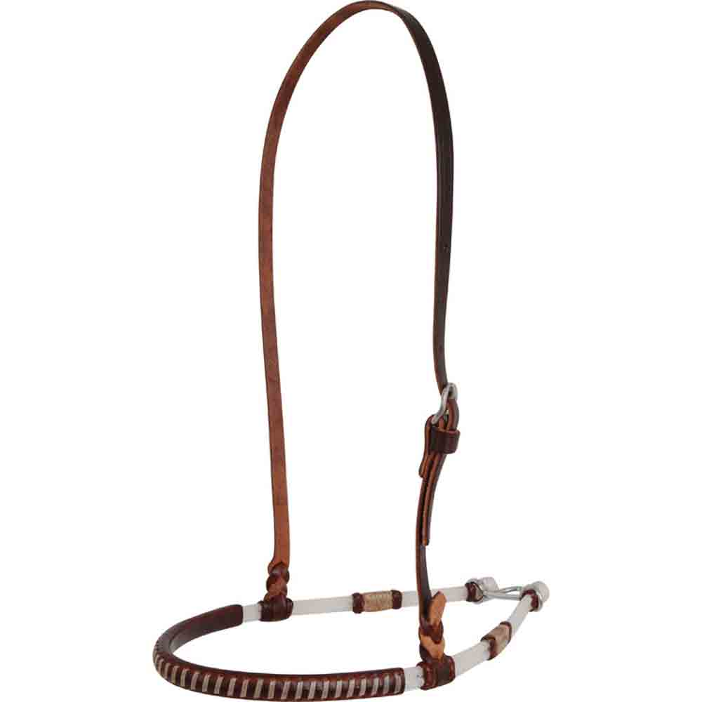 Martin Saddlery Noseband - Double Rope with Rawhide Knots Tack - Nosebands & Tie Downs Martin Saddlery Teskeys