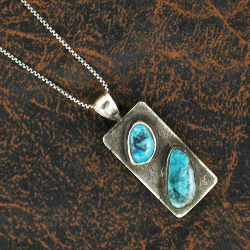 Comstock Heritage Two Piece Turquoise Necklace