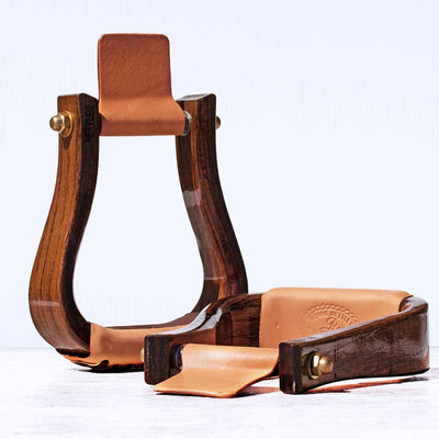 Nettles Triple Finish Stirrups Saddles - Saddle Accessories Nettles Teskeys