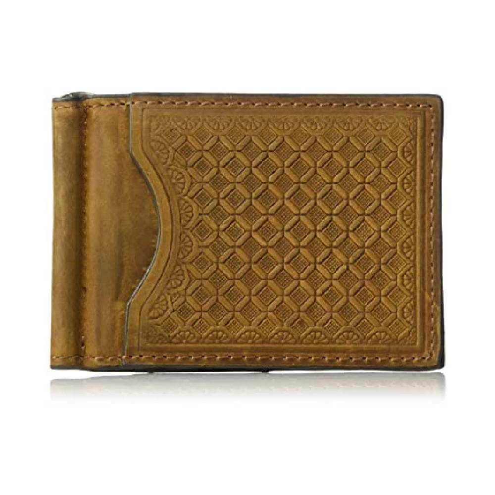 Nocona Basketweave Bi-Fold Money Clip Wallet MEN - Accessories - Wallets & Money Clips M&F WESTERN PRODUCTS Teskeys