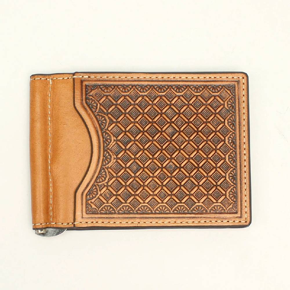 Nocona Diamond Weave Bi-Fold Money Clip Wallet MEN - Accessories - Wallets & Money Clips M&F WESTERN PRODUCTS Teskeys