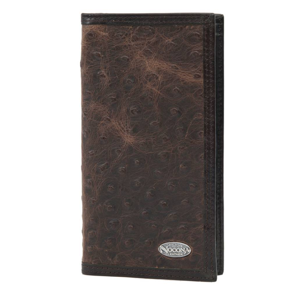 Nocona Rodeo Vintage Ostrich Wallet MEN - Accessories - Wallets & Money Clips M&F WESTERN PRODUCTS Teskeys